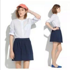 Madewell Ponte Swivel Mini Skirt 0